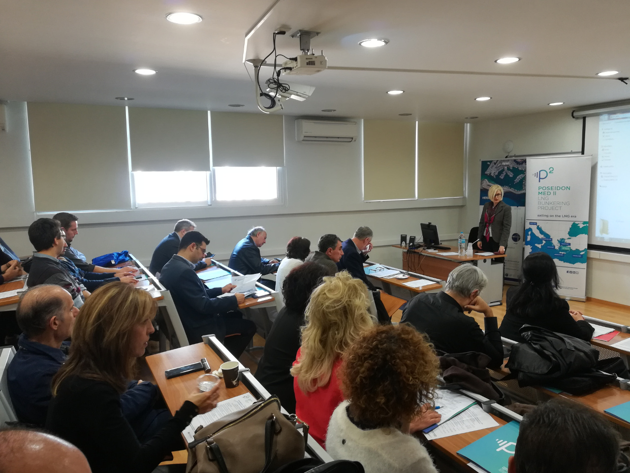 Poseidon Med II Workshop at the Technological Educational Institution of Crete