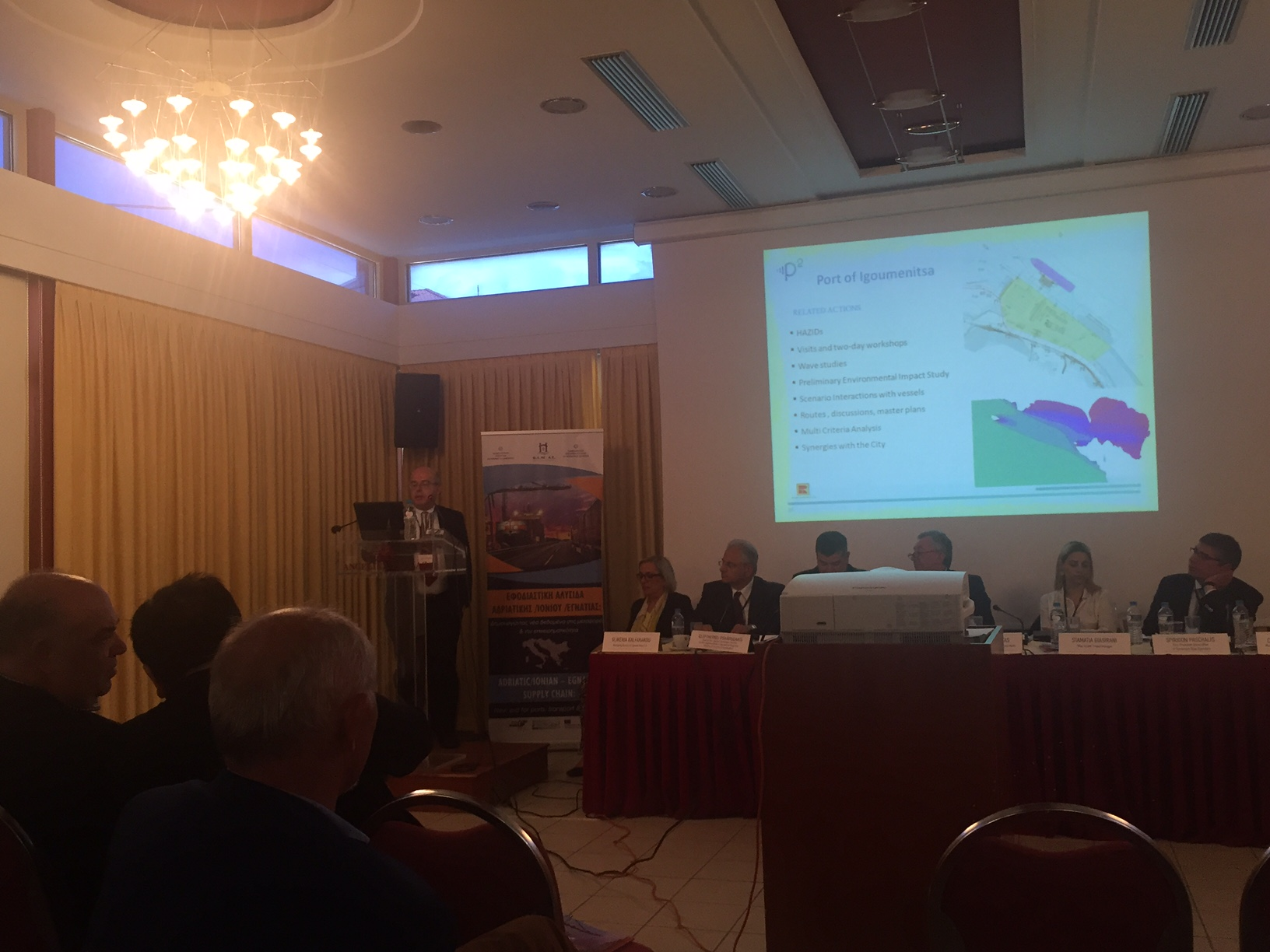 Poseidon Med II at EUSAIR Workshop in Igoumenitsa